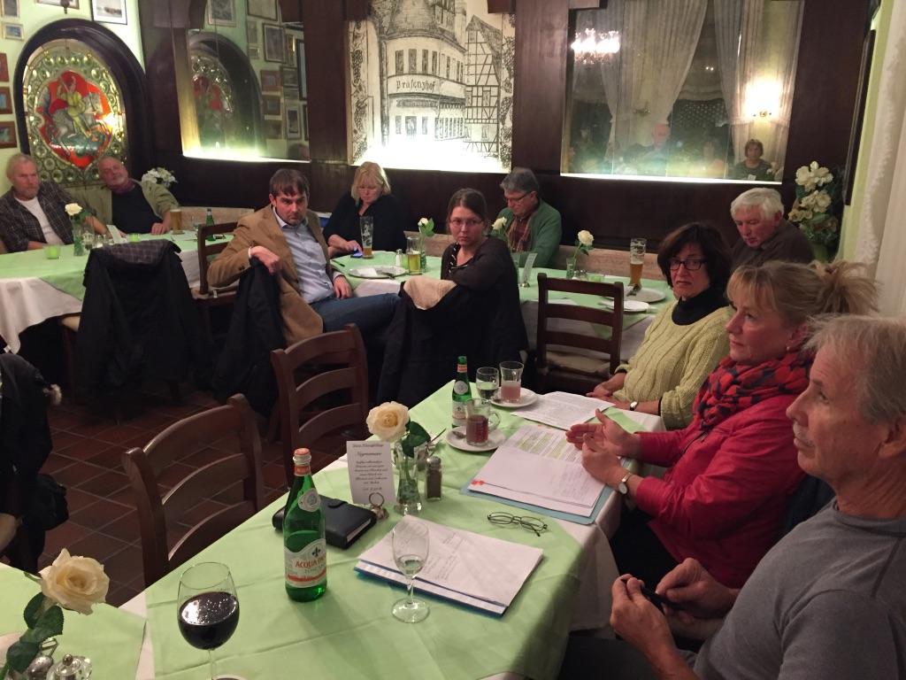 Grüne Runde mit MdL Ursula Hammann
