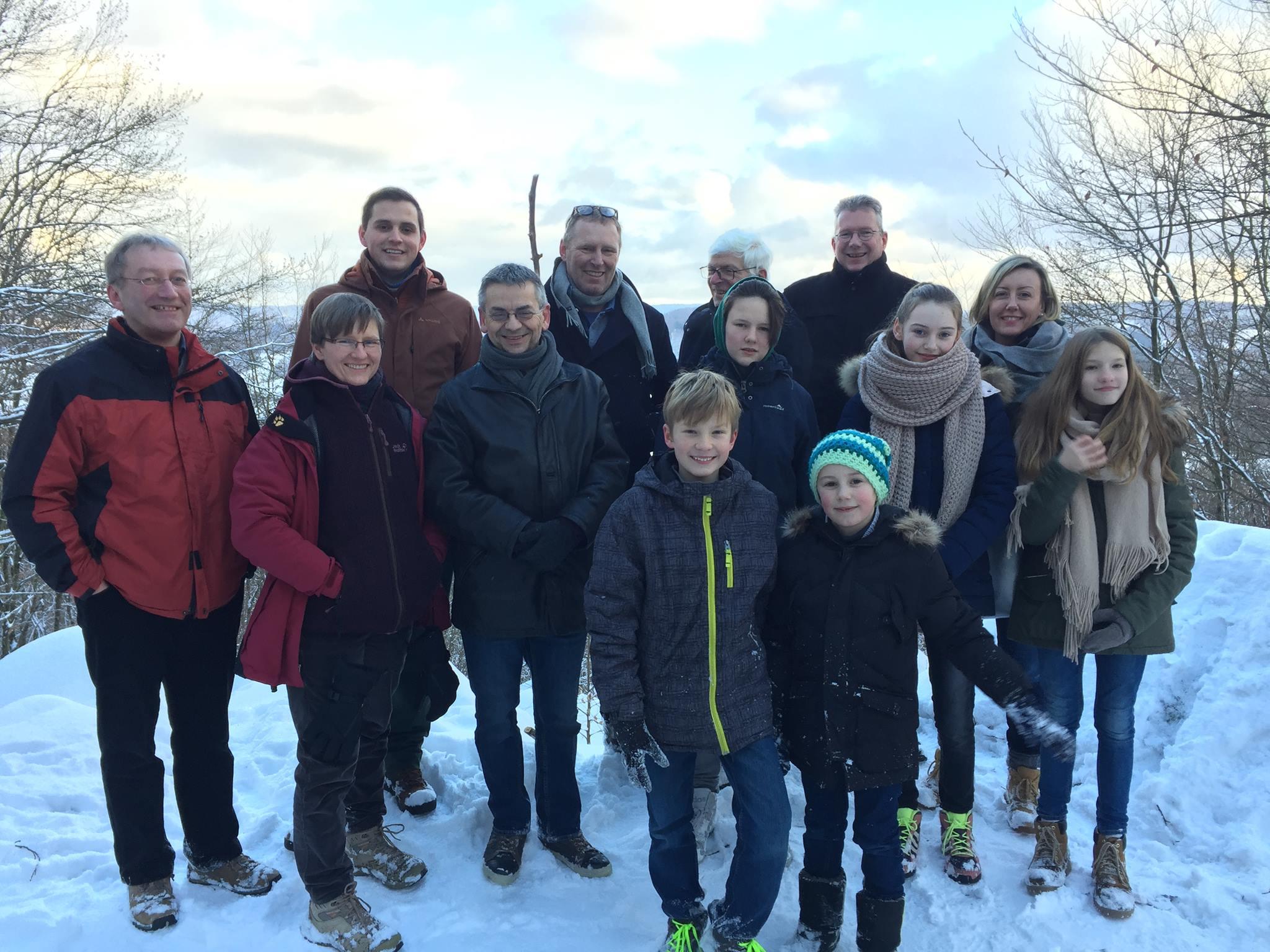 Winterwanderung in Lindenfels