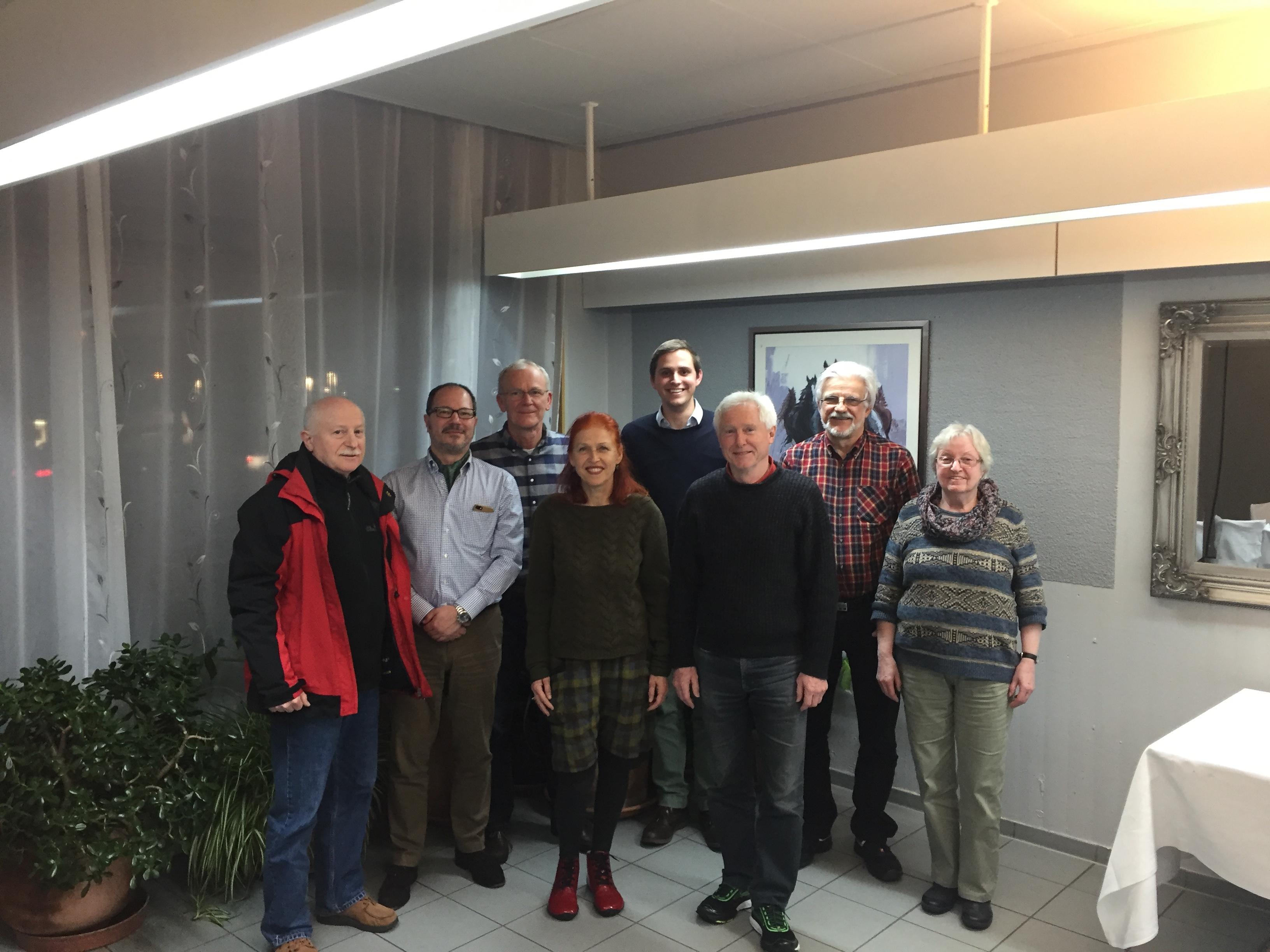 Zu Besuch bei den Viernheimer Grünen