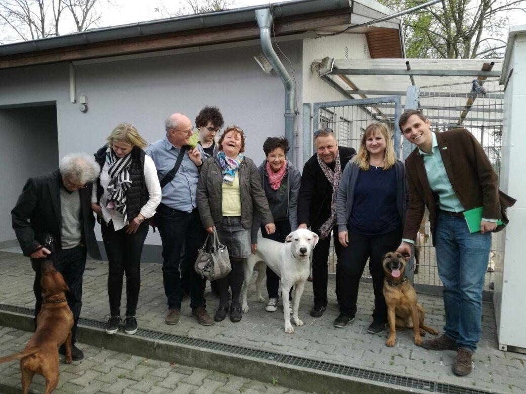 Besuch des Tierheims Heppenheim