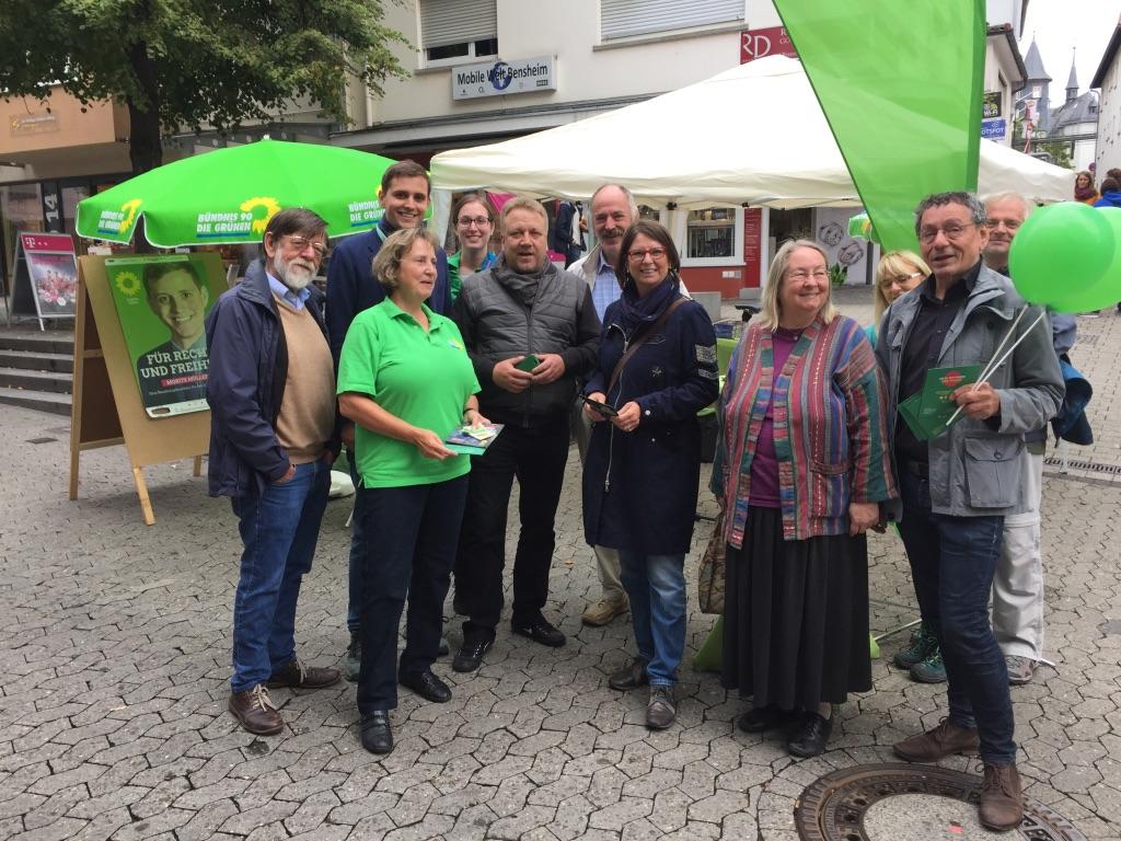 Hessische Umweltministerin zu Besuch in Bensheim