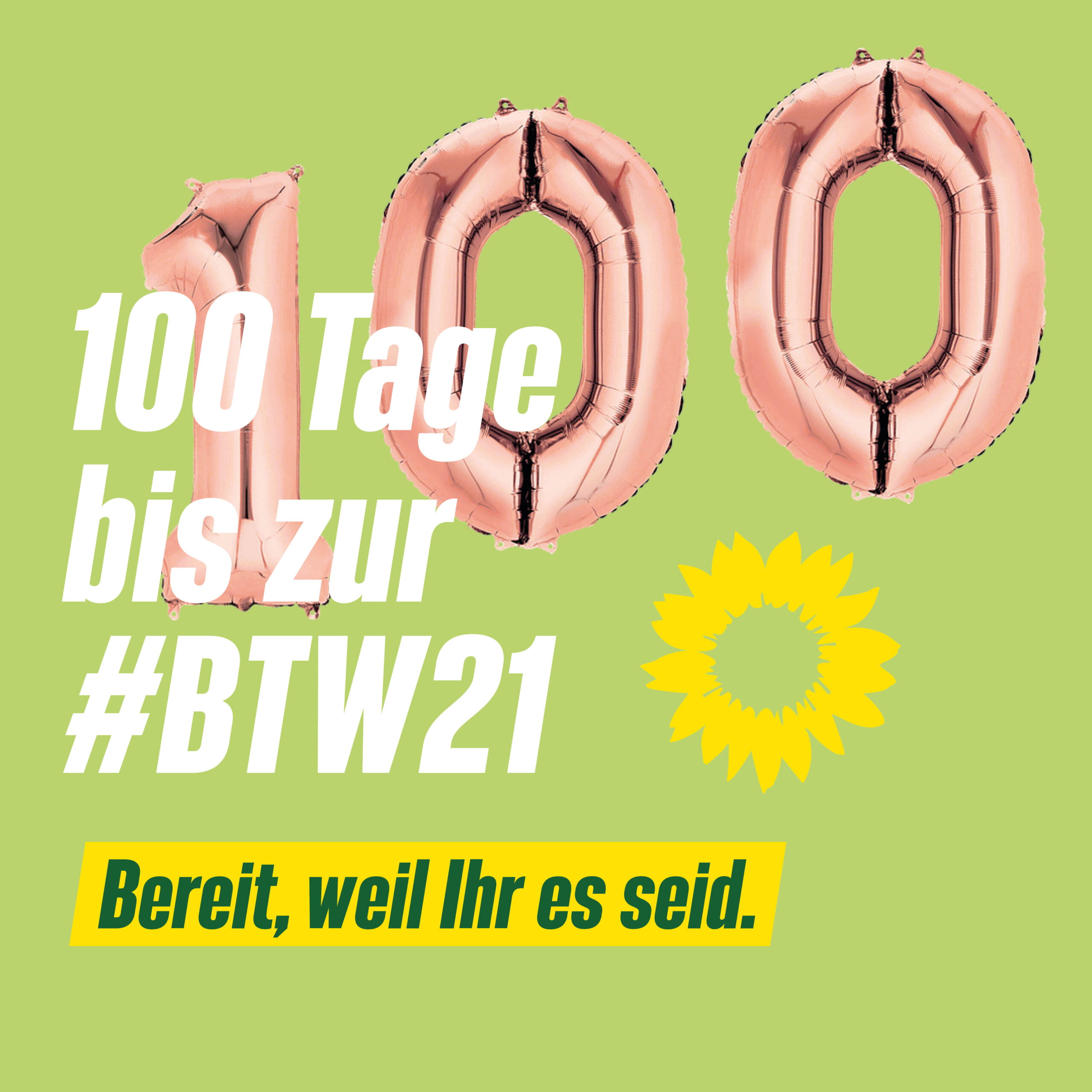 100 Tages bis zur #BTW21