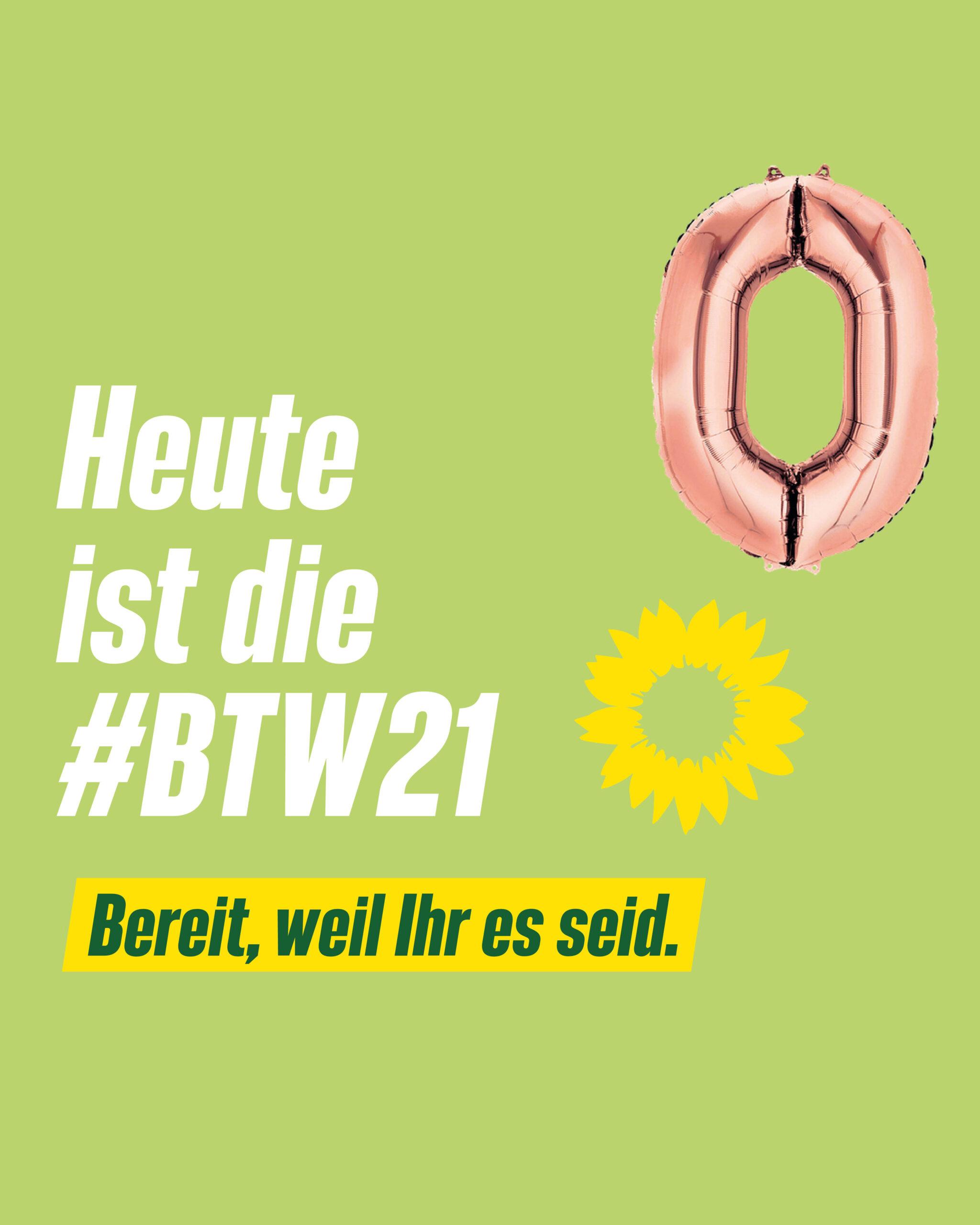 Heute ist Bundestagswahl