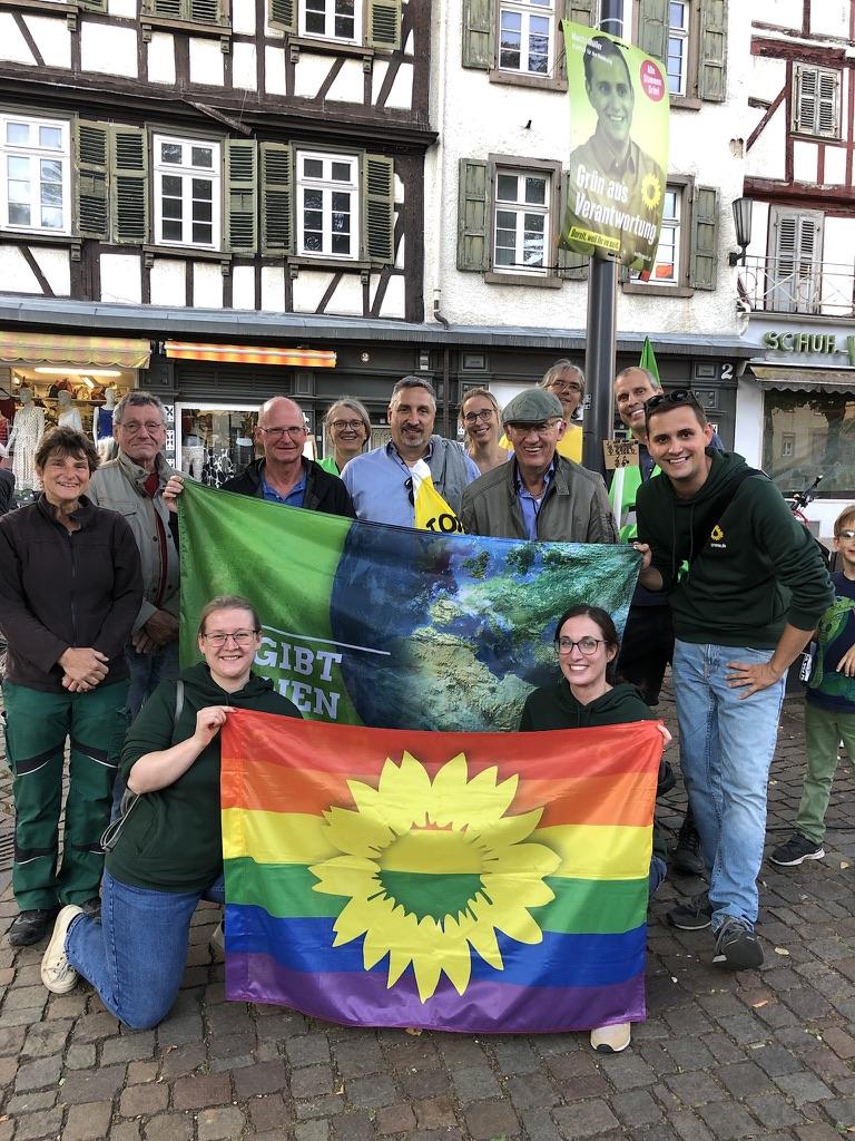 Internationaler Klimastreiktag in Bensheim